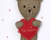 Valentine Teddy Bear Sewing Pattern