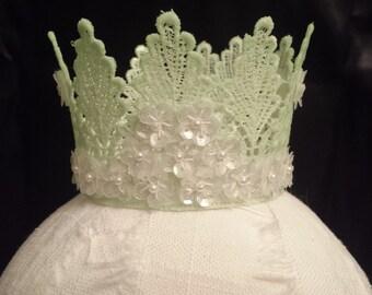 Sequin Flower Crown Prop
