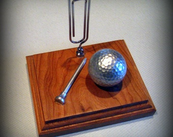 Golf Decor Or Traveling Trophy For Your Desk Office By