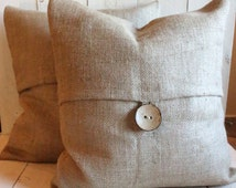Popular Items For Burlap Pillow Covers On Etsy