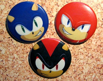 Sonic the Hedgehog, Knuckles the Echidna & Shadow the Hedgehog Button Set