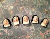Saint Theresa Embellishments, set of 5, Lisa Kettell Designs