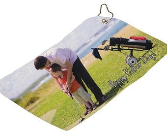 Personalized Golf Towels Custom Picture Golf Towels Picture Towels Bar Towels
