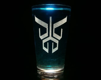 Kamen Rider Kuuga Pint Glass