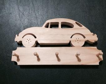 VW Bug Wall Key Chain Holder