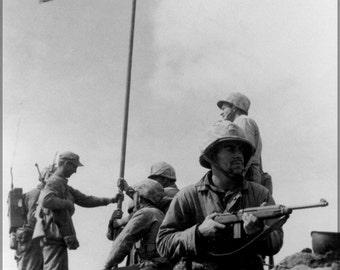 24x36 Poster; Battle Of Iwo Jima