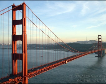 24x36 Poster; Golden Gate Bridge