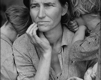 24x36 Poster; Migrant Mother Dorothea Lange