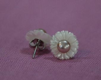 pearl stud earrings,freshwater pearl earrings, wedding earrings, pearl wedding earrings, wedding jewelry, chandeller wedding earrings