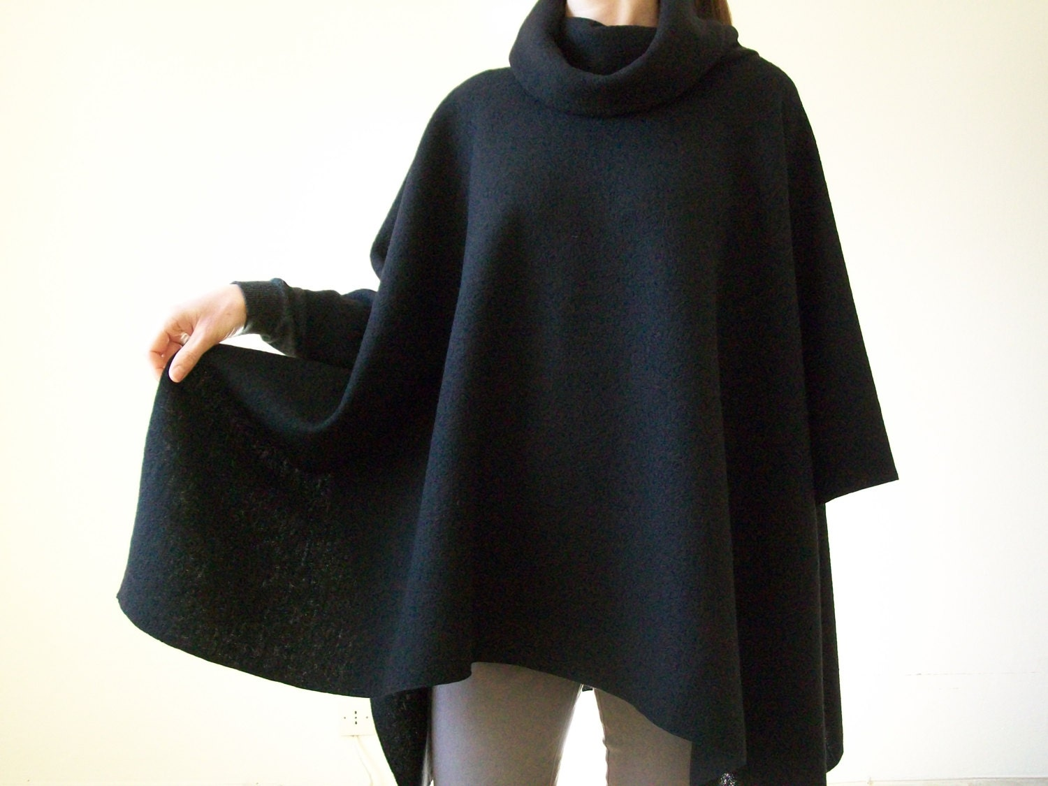 how to make a poncho cape