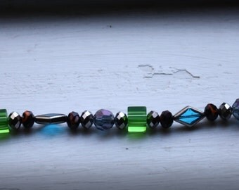 Stunning beaded charm bracelet!
