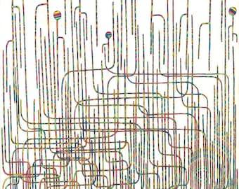 "between those lines- fine art print (11x14"")"