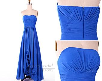 Popular items for asymmetric hemline on etsy for Wedding dresses asymmetrical hemline