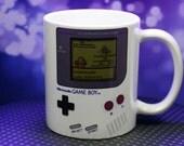 Gameboy Pokemon Mug CUSTOMIZABLE