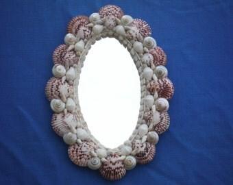 Holiday SALE-Romance Series - Seashell Mirror #838 20% off reg price