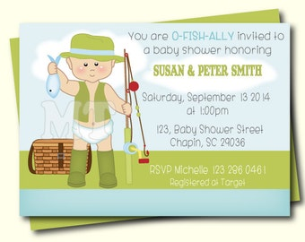 gone fishing baby shower invitation fishing baby boy shower invites daddyu0027s fishing buddy boy