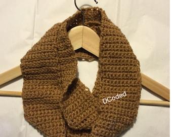 Children's Crochet Infinity Scarf
