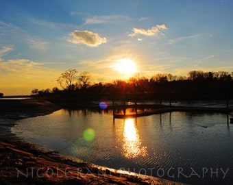 Sunset by the Docks - Landscape Photography - Stamford, CT