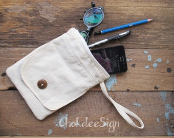 Cosmetic Bags, Makeup Bags, Cotton Pouch Bags, Cell phone bag