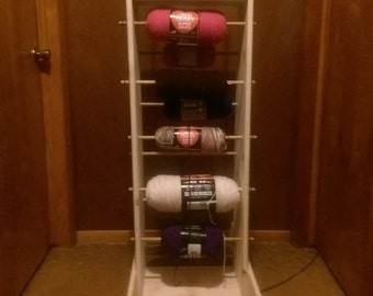 Handmade Yarn Rack Holder