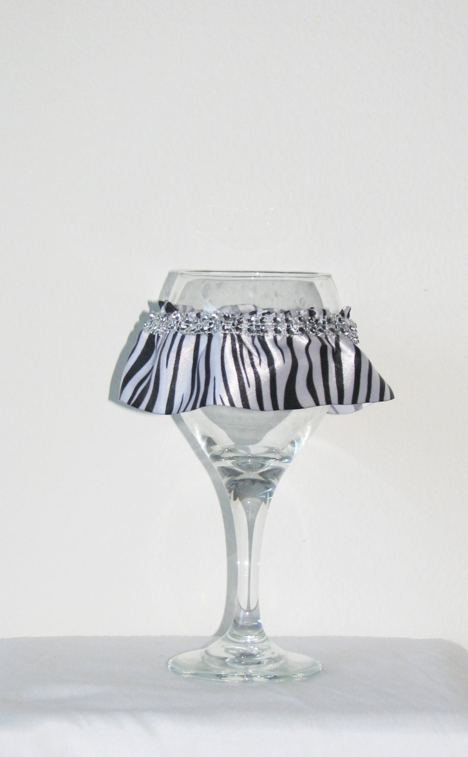 Funky gift wine glass cover wine glass tutu wine by drinkswag - Funky champagne flutes ...