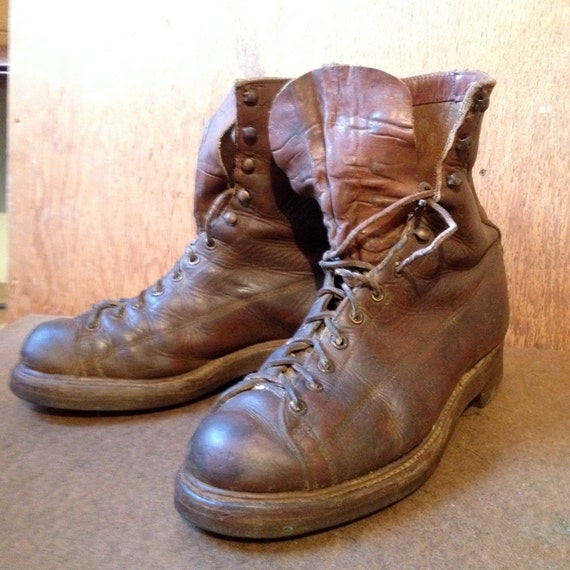 Items Similar To Vintage Santa Rosa Brand Work Boots From