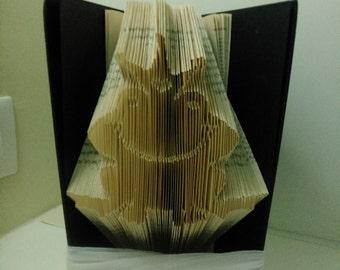 Book Folding Pattern - Frog prince
