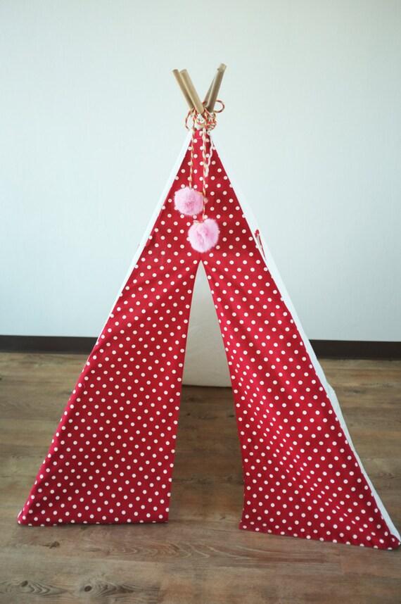 Polka Dots Teepee For Kids