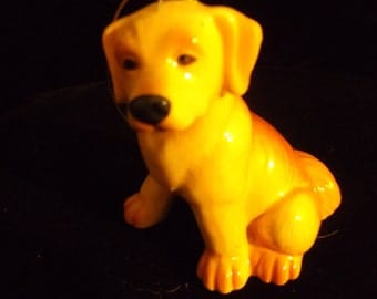 antique porcelain dog oranment