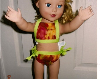 American Girl-Bikini weather is coming.  Get your best friend ready.