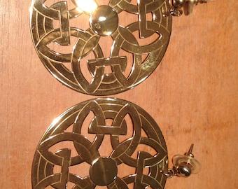Earrings Silver 925 mm. plated in 18 k gold.
