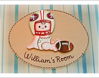 49ers room etsy for 49ers bathroom decor