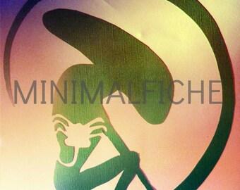 Alien minimalist movie poster