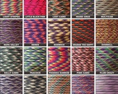 50ft of 550 Paracord Mil Spec Type III 7 strand parachute cord Fast Shipping made in the U.S.A. over 130 colors