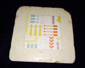 Ceramic Tile Coasters 4 x 4