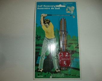 Vintage 1970's Golf Watch Scorer - Hong Kong - New Sealed
