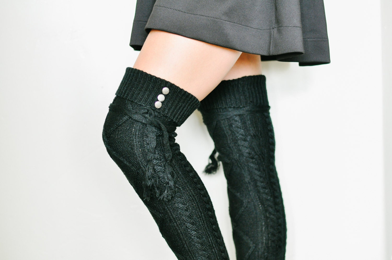 zoey thigh high boot socks socks zeppy io