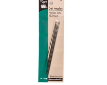 Doll Needles by Dritz Sewing Notions # D157
