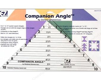 "10"" EZ Acrylic Template Companion Angle Ruler Item # 7560"