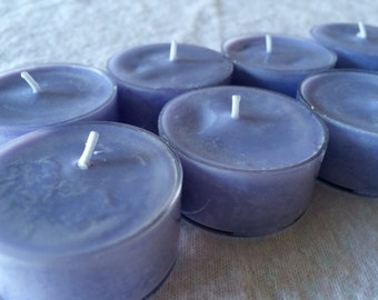 Pure Soy Set of 8 Scented Tea Lights-Lavender Dreams
