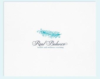 Premade Logo Design / Watercolor Logo / Photography Logo / Wedding Logo / Business Logo...