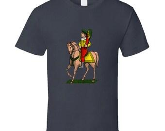 Horse Knight Cavallo Clubs Bastoni Italian Cards Scopa Briscola T Shirt