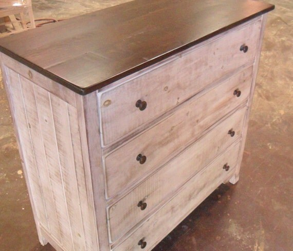 chest dresser reclaimed salvaged solid wood