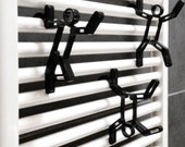 Towel Hangers // Hooks for Towel Warmers // SOBman // Design Accessories // Handmade Towel Hooks // Acrylic // Made in Italy // Bathroom