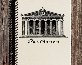 The Parthenon Notebook - Ancient Greece - The Parthenon - History Notebook - Ancient History - College Notebook