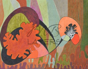 prints illustrations, pencil drawing, bohemian decor, abstract drawing, nursery decor, wall art prints, original artwork, coloring book, art