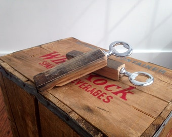 Bourbon/Whiskey Barrel Stave Bottle Opener
