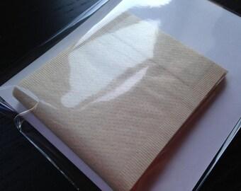 50 Unbleached Paper Tea Filter Bags