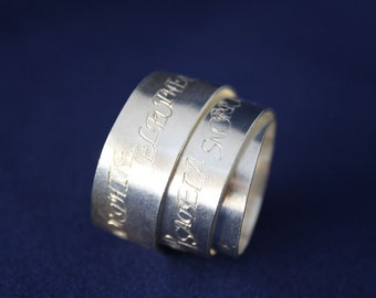 Ring Silver Wrapping Ring