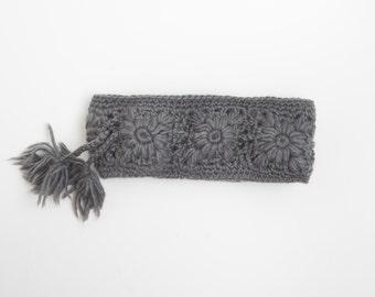 Daisy Crochet Head-Band
